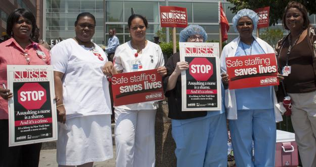 safe workplace for nurses