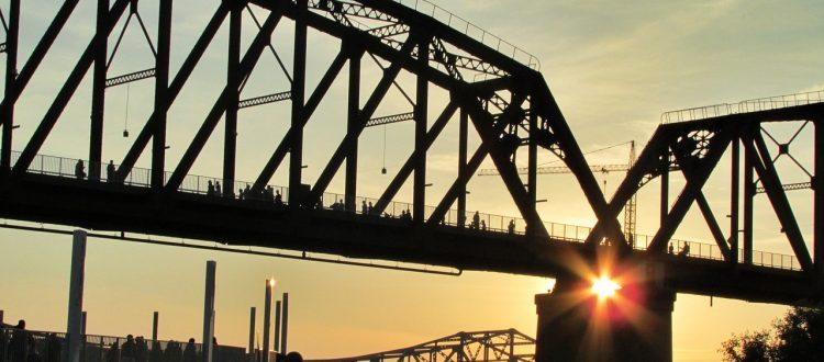 bridge-sunset-river-architecture-louisville