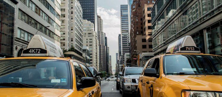 new york city taxi cab